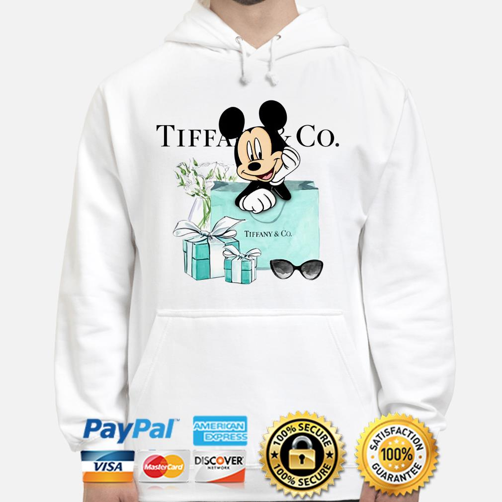 Disney Mickey mouse Tiffany Co Hoodie