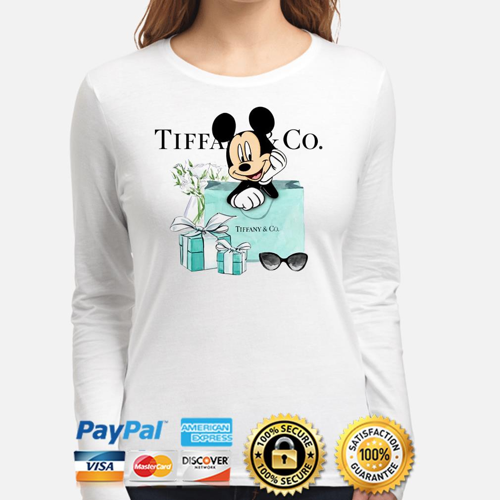 Disney Mickey mouse Tiffany Co Long sleeve