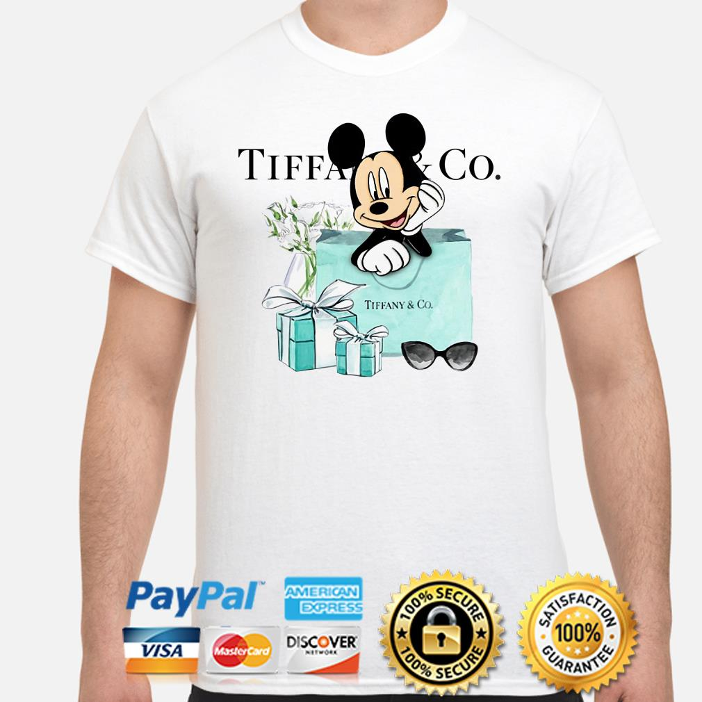 Disney Mickey mouse Tiffany Co shirt
