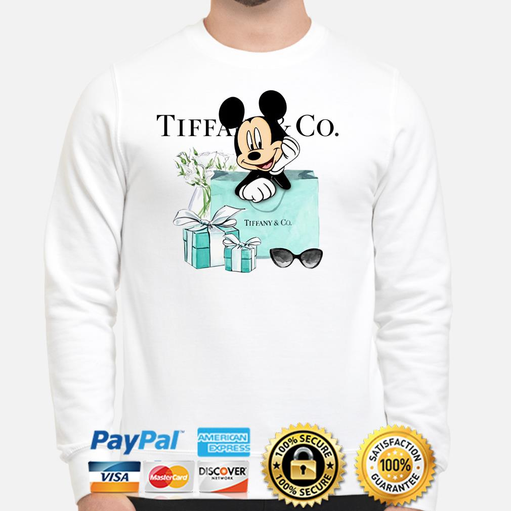Disney Mickey mouse Tiffany Co Sweater