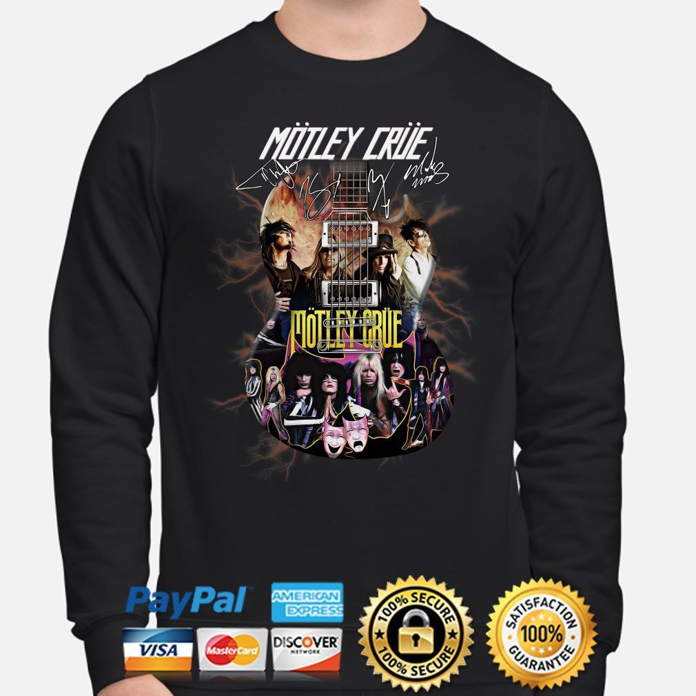 Electric Guitar Motley Crue signature sweater