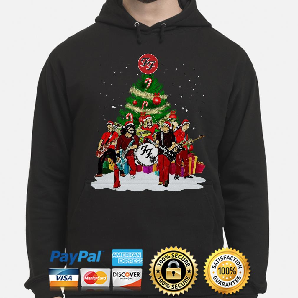 Foo Fighters Rock Band Christmas hoodie