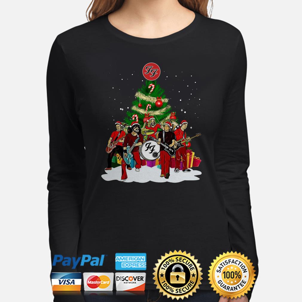 Foo Fighters Rock Band Christmas long sleeve