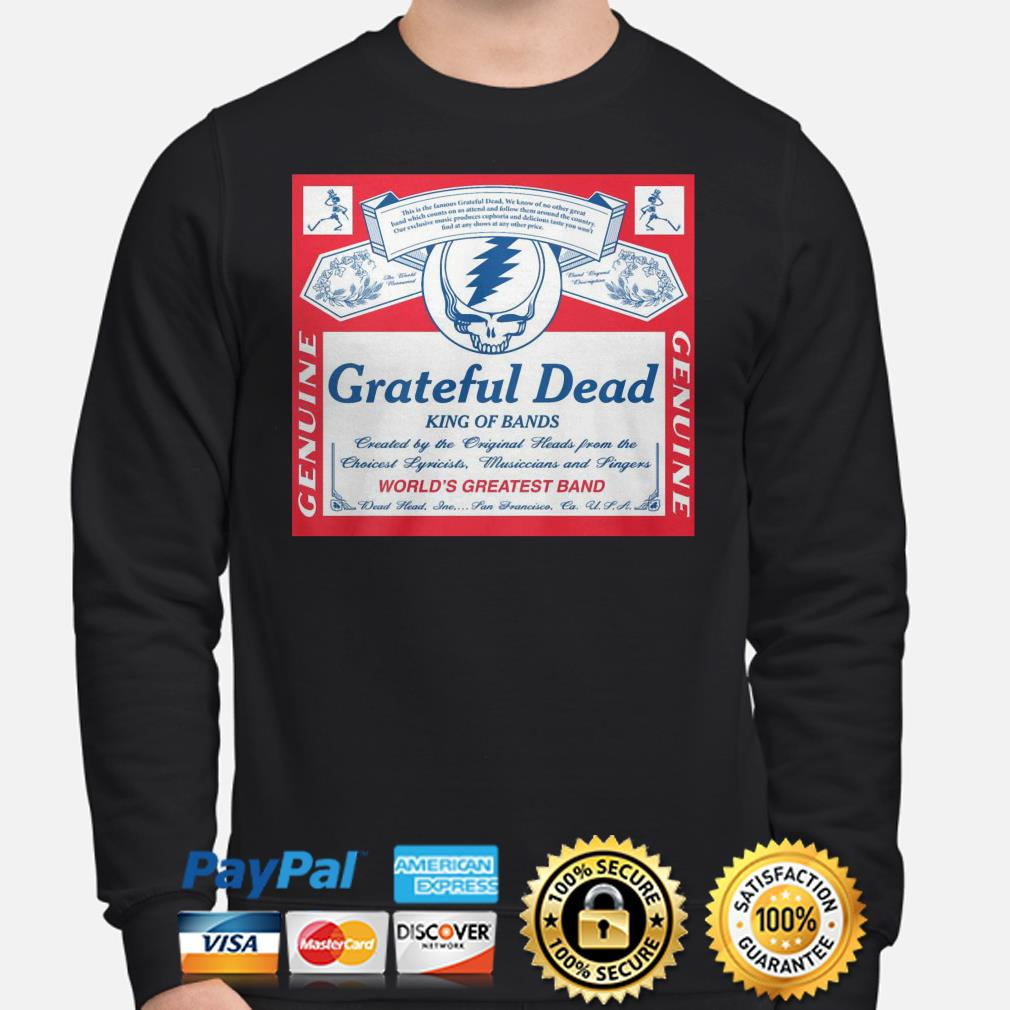 Grateful Dead king of bands world's greatest band sweater