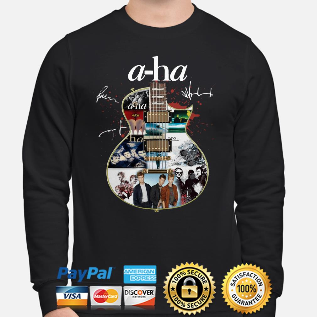 Guitar A-Ha signature Sweater