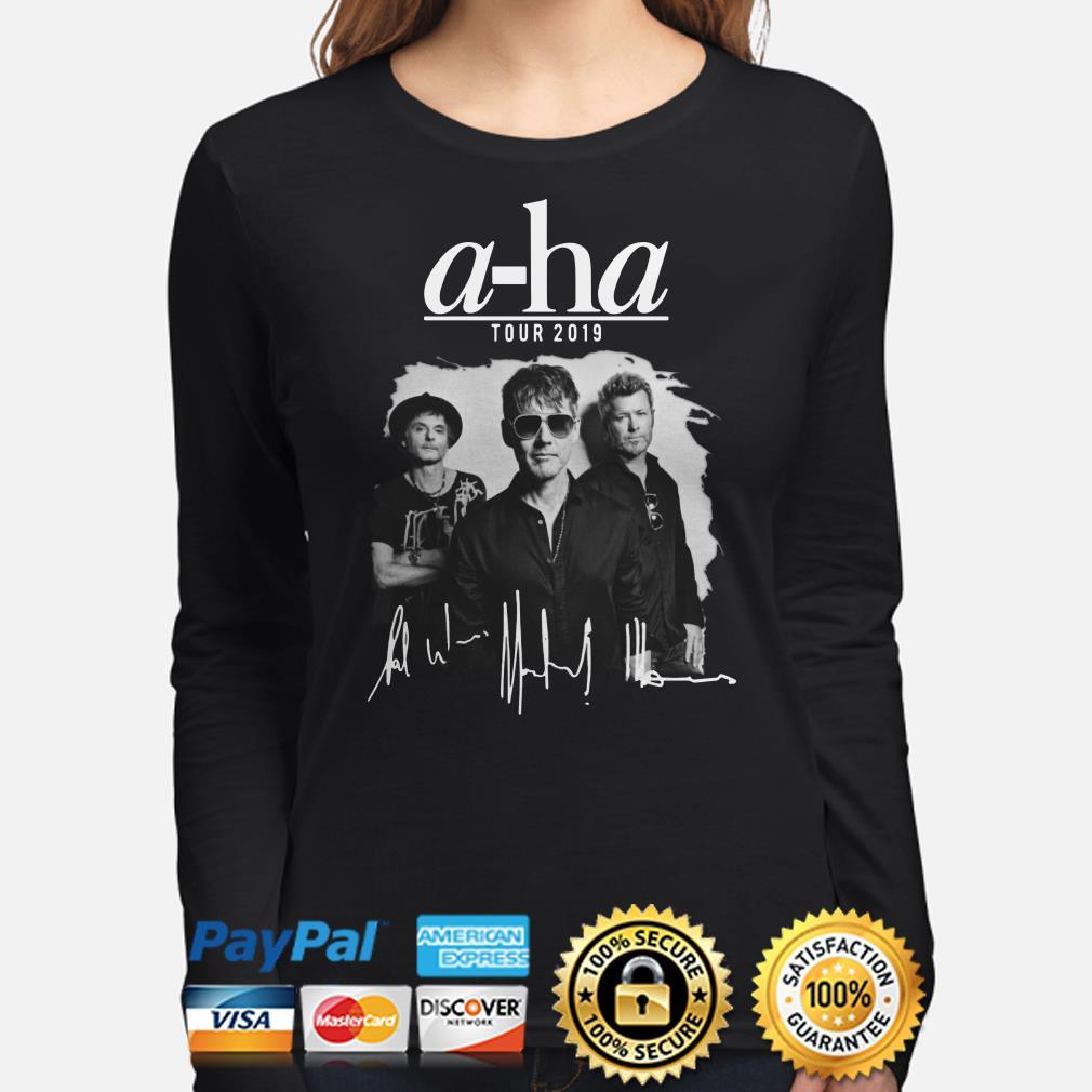 A-ha tour 2019 signature long sleeve