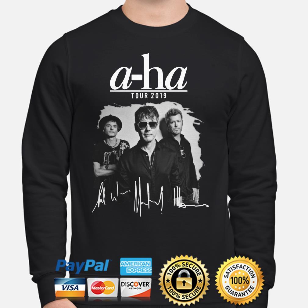 A-ha tour 2019 signature sweater