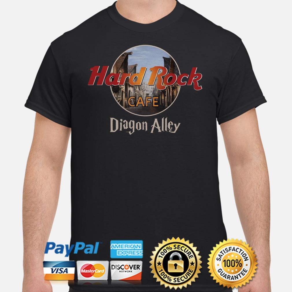 Hard Rock Cafe Diagon Alley shirt