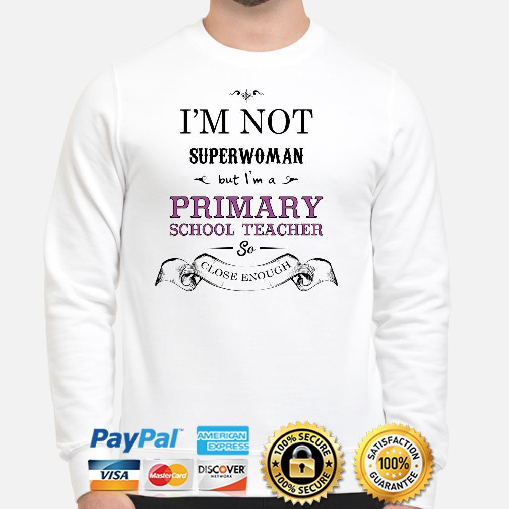 I'm not superwoman but I'm a Primary school teacher so close enough sweater