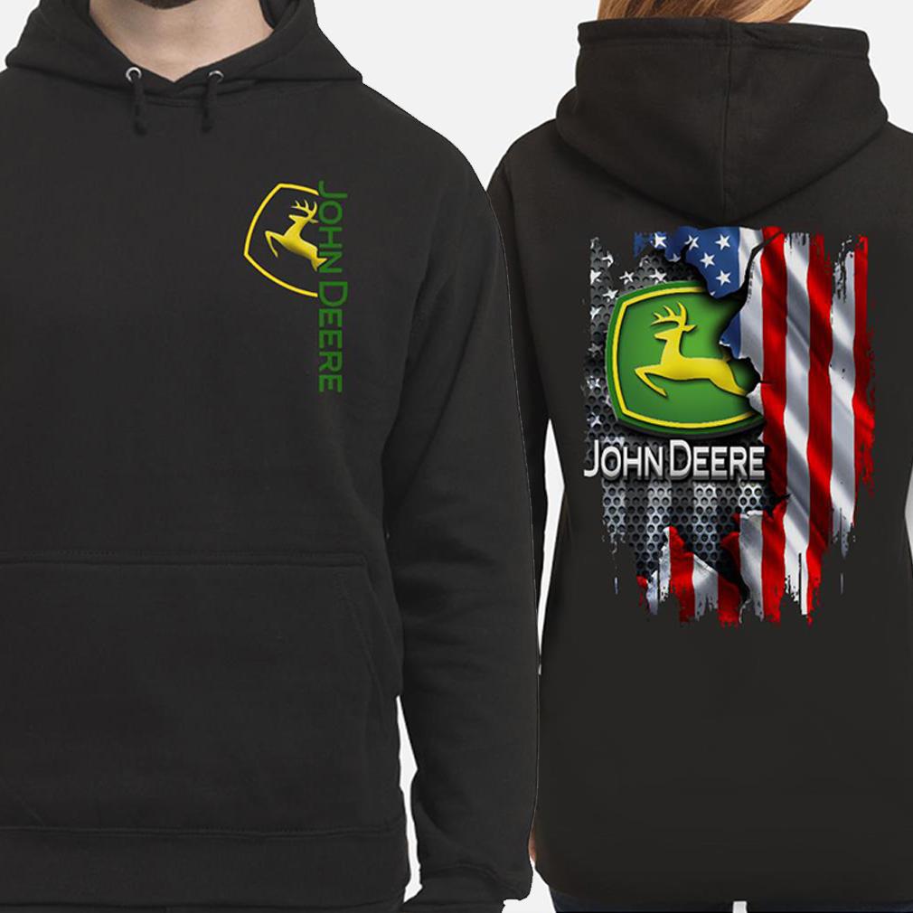 John Deere American flag Hoodie