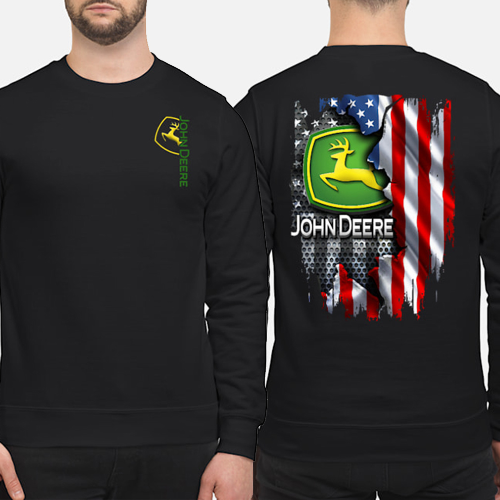 John Deere American flag Sweater