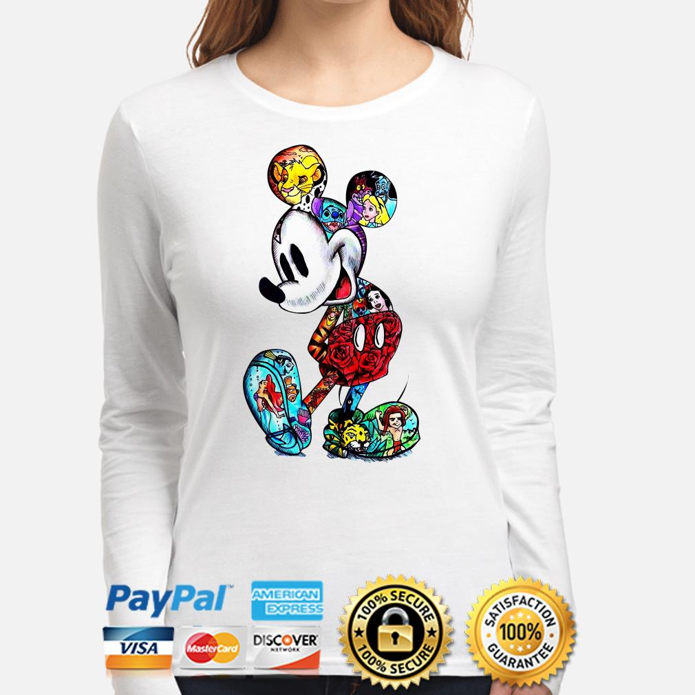Mickey Mouse Tattoos Disney characters long sleeve
