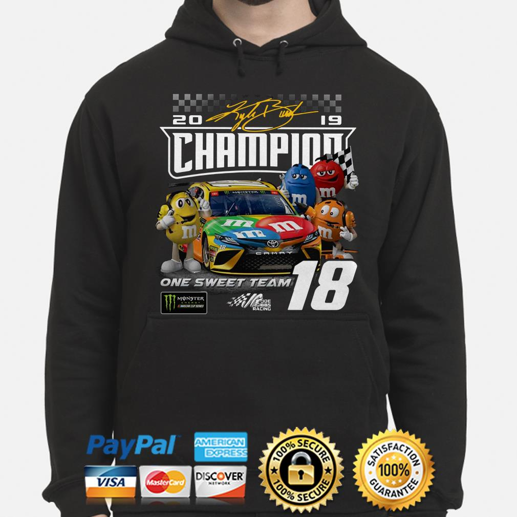 M&M 2019 Champions on the sweet team Hoodie