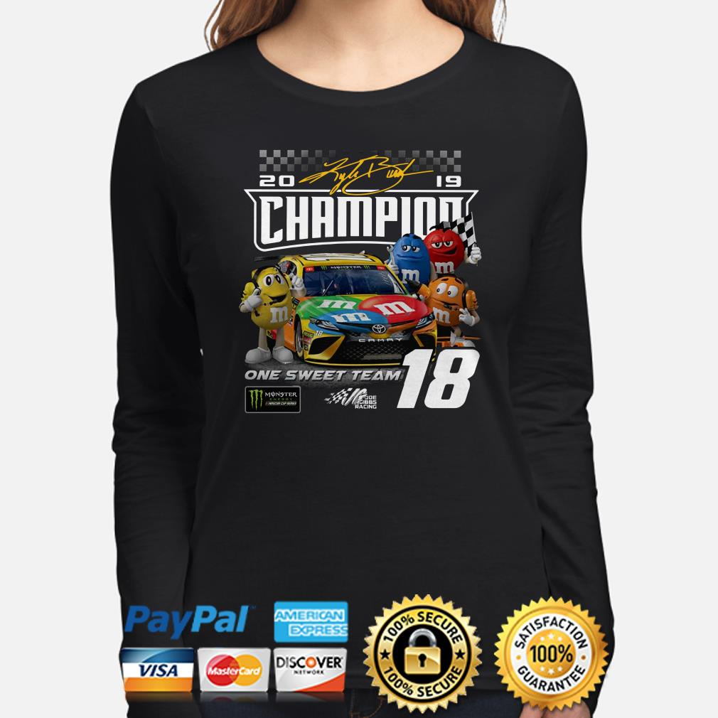 M&M 2019 Champions on the sweet team Long sleeve