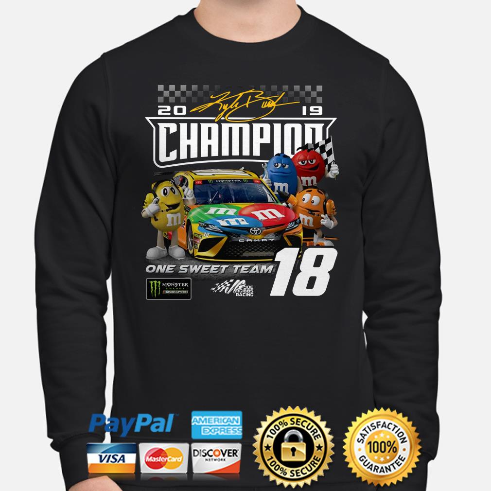 M&M 2019 Champions on the sweet team Sweater