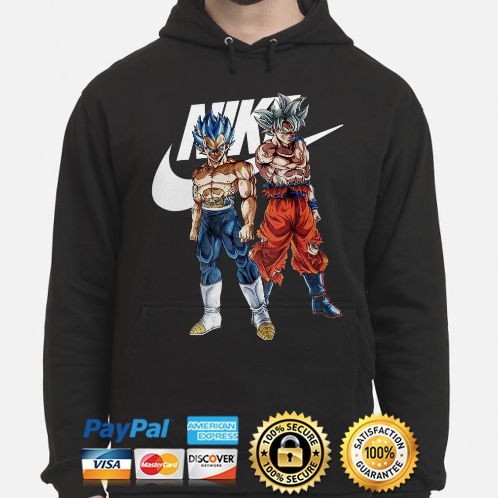 Official Nike Dragon Ball Vegeta And Son Goku Shirt