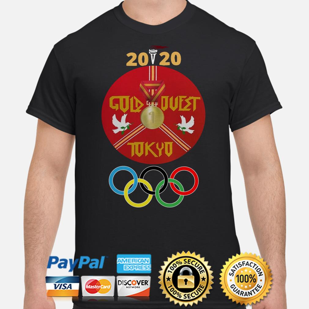 Olympic 2020 Gold Quest Tokyo shirt