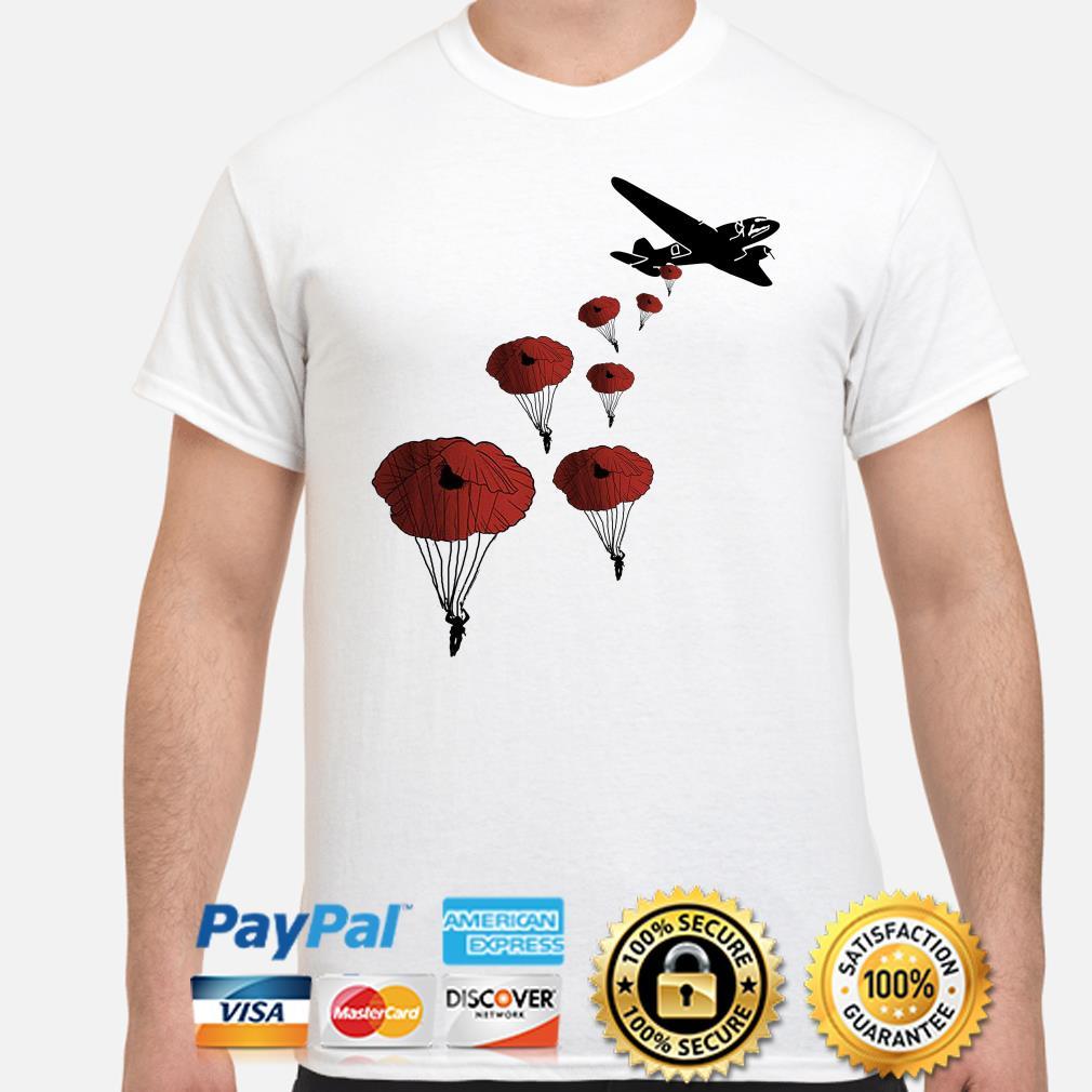 Paradrop Poppies shirt