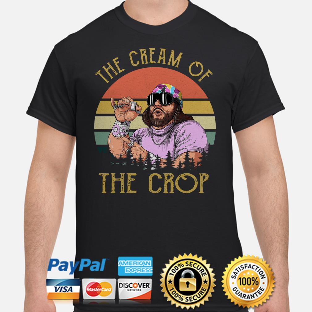 Randy Savage the Cream of the crop vintage shirt