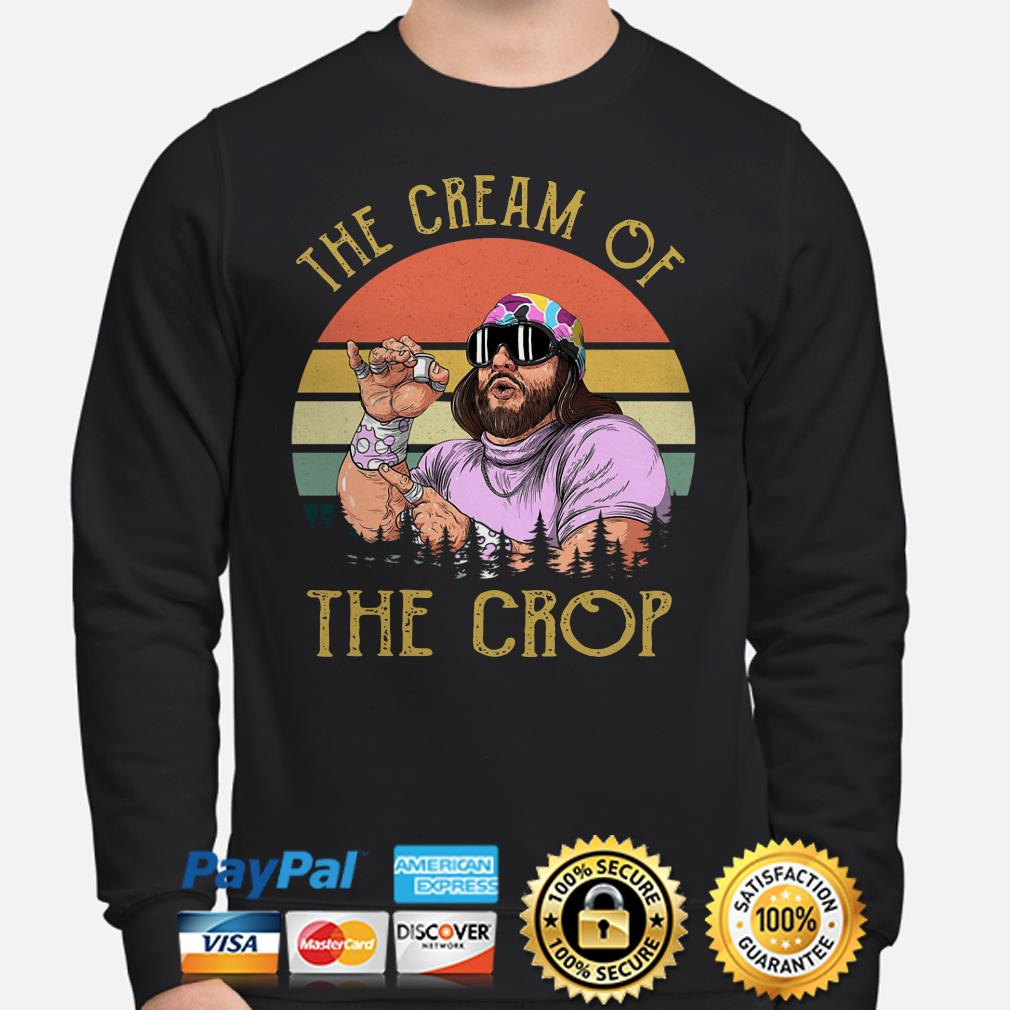 Randy Savage the Cream of the crop vintage Sweater