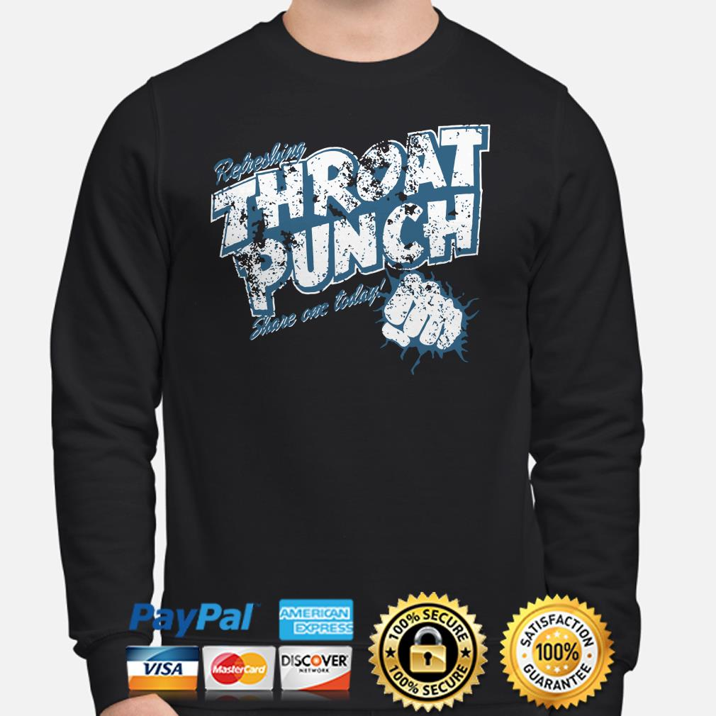 Refreshing Throat punch share one today sweater
