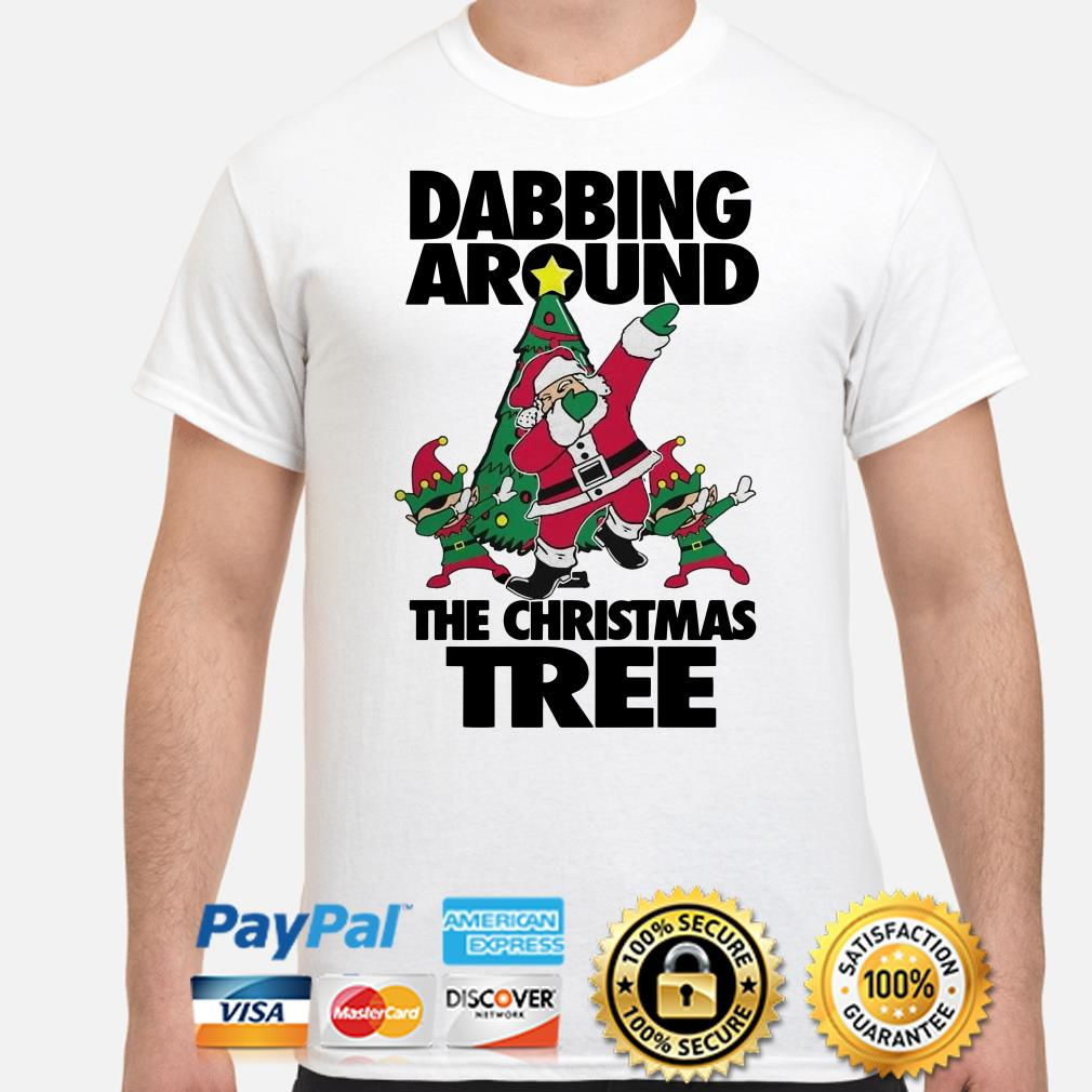 Santa Claus Dabbing around the Christmas T-shirt