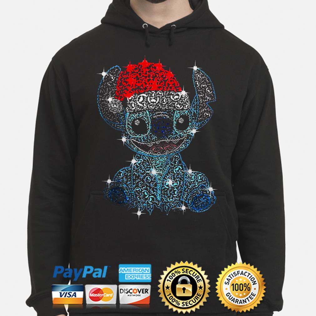 Santa CLaus Stitch Diamond Christmas hoodie