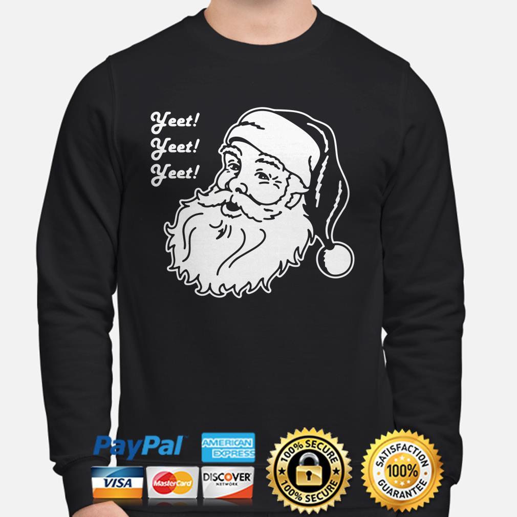 Santa Claus Yeet Christmas Sweatshirt