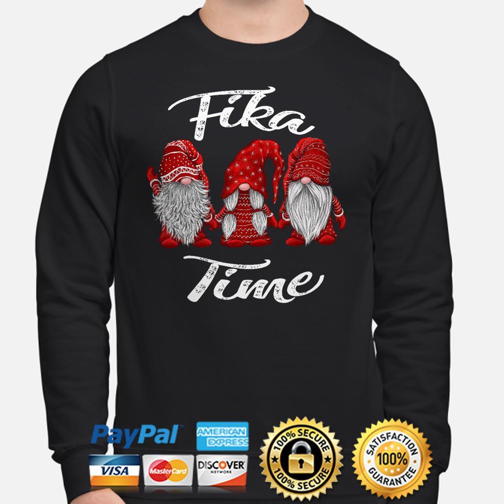 Santa Gnomes Fika time Christmas sweater