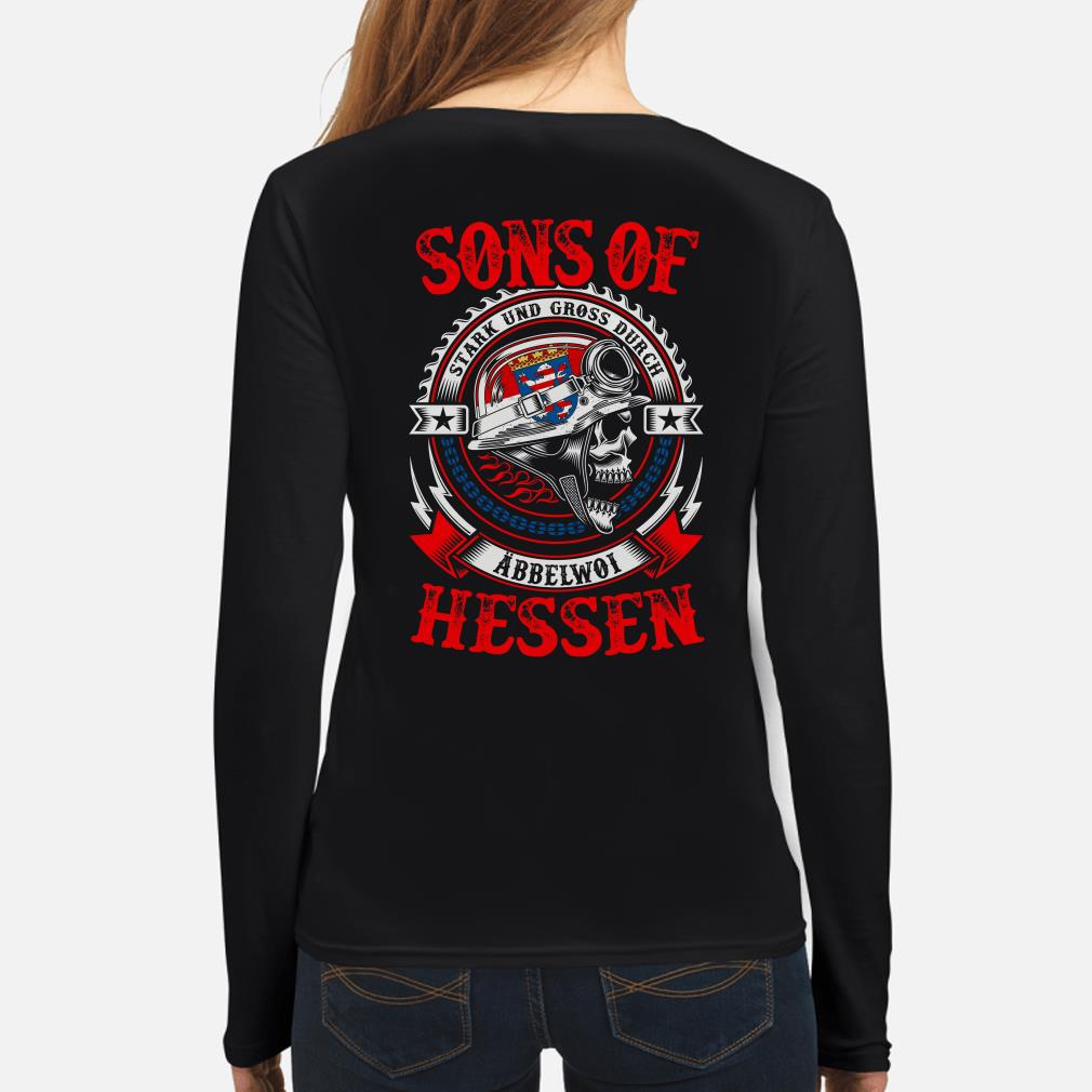 Sons of Hessen Stark und Gross Durch Abbelwoi Long sleeve