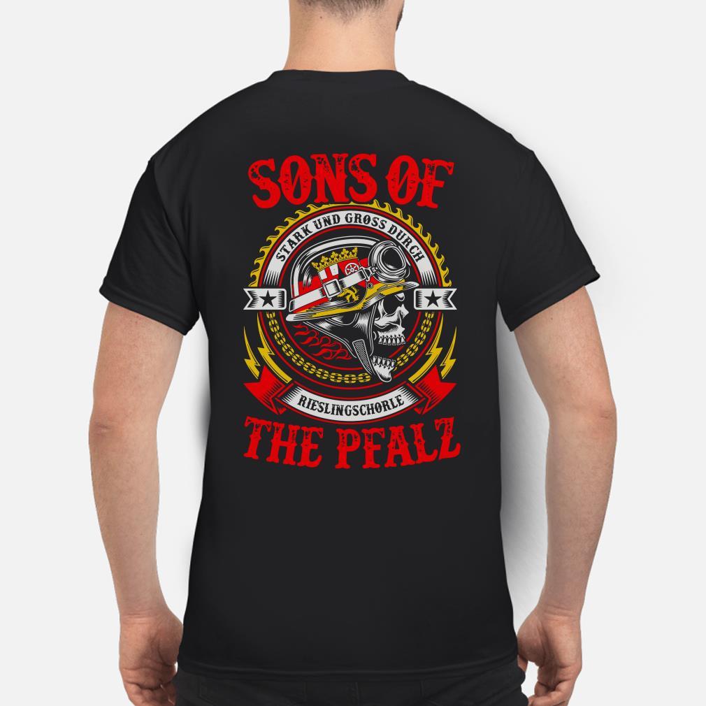 Sons of Stark und Gross Durch Abbelwoi Hessen shirt