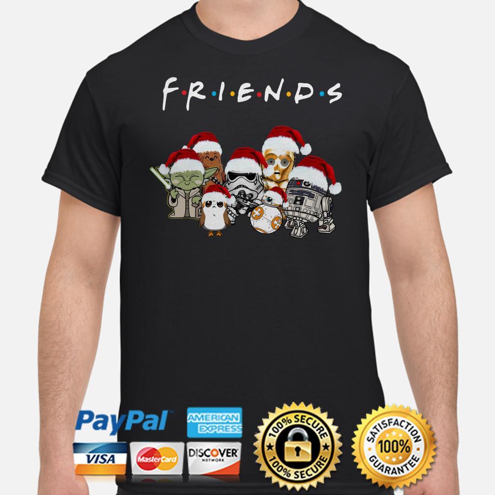 Star Wars Characters chibi Friends Christmas shirt
