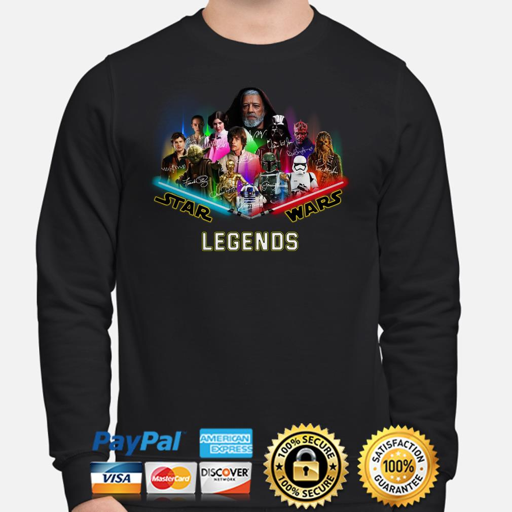 Star Wars characters Legends signature Sweater