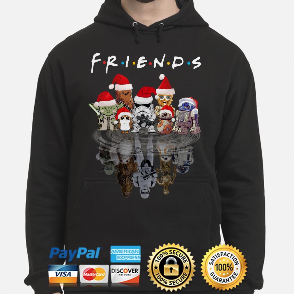 Star Wars Characters water mirror Friends Christmas hoodie