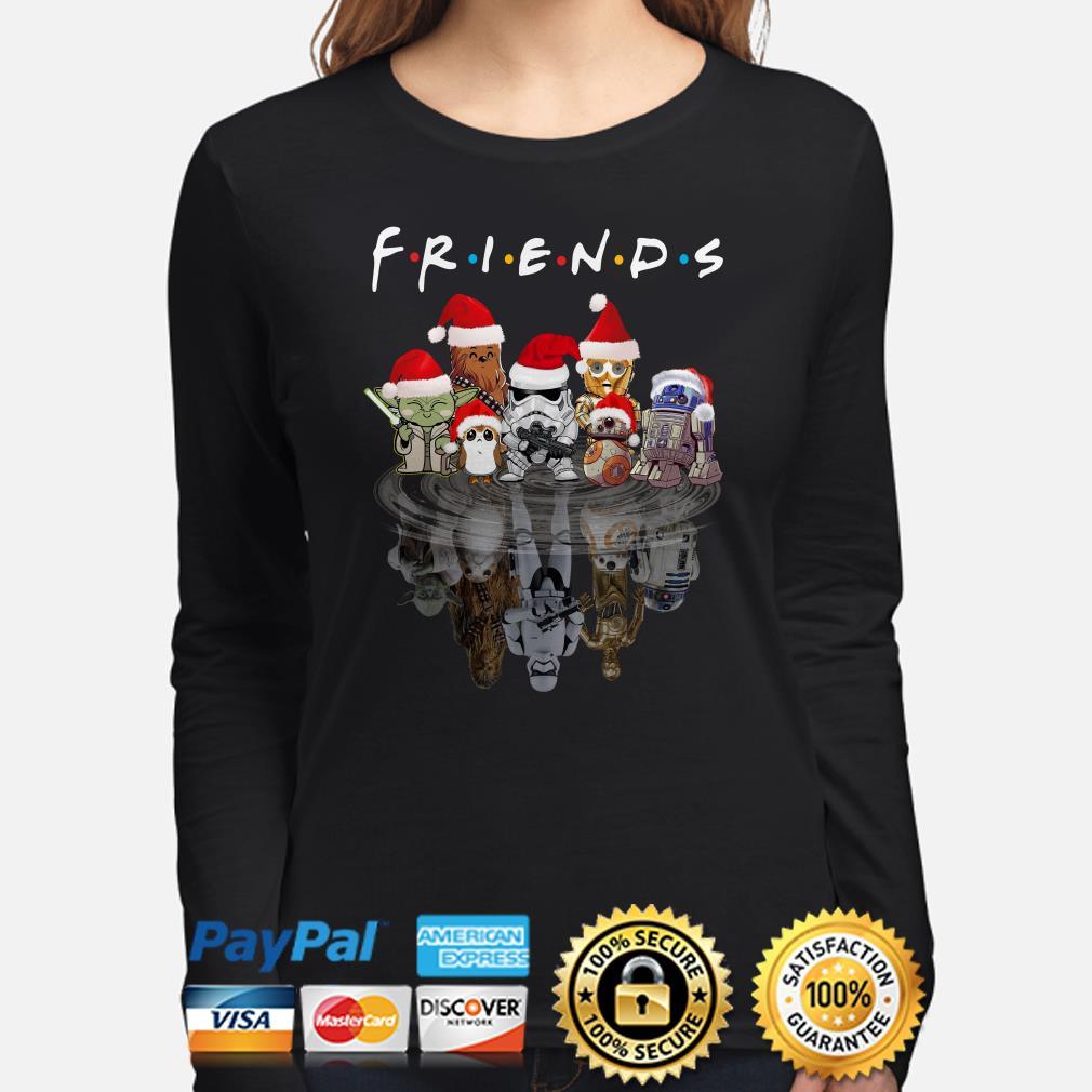 Star Wars Characters water mirror Friends Christmas long sleeve