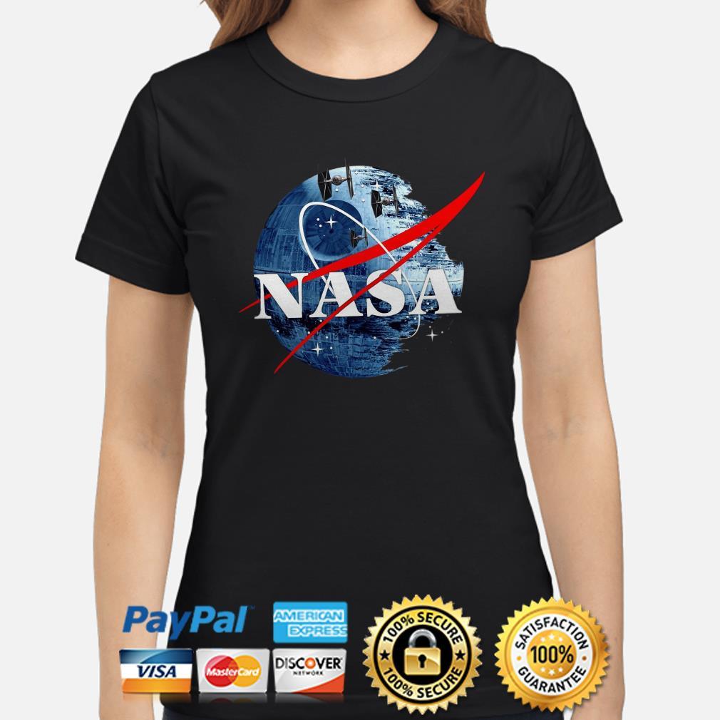 Star Wars Death Star Nasa ladies shirt