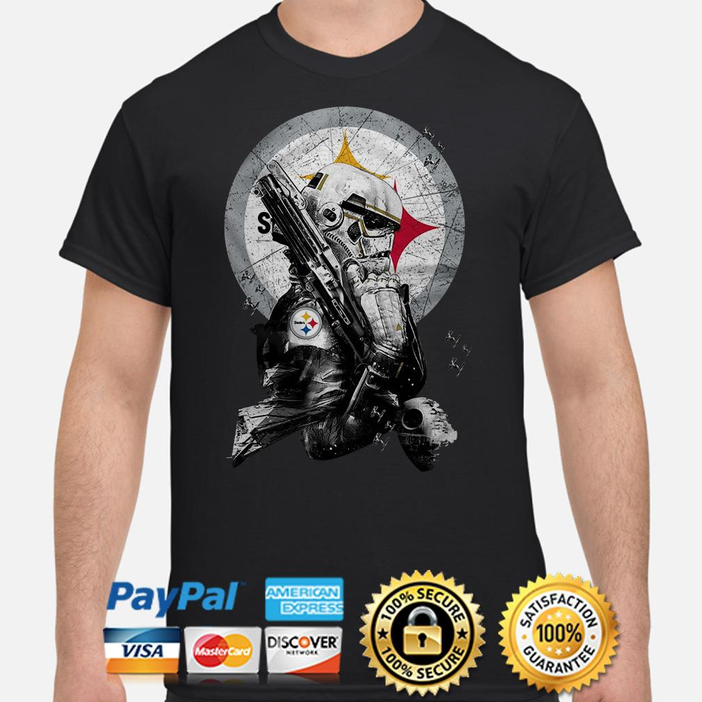 Star Wars Stormtrooper Pittsburgh Steelers shirt