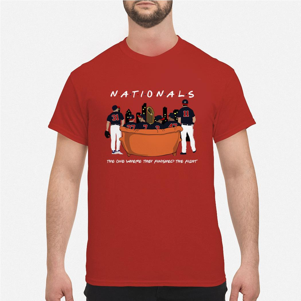 Washington Nationals the one where they finished the fight shirt