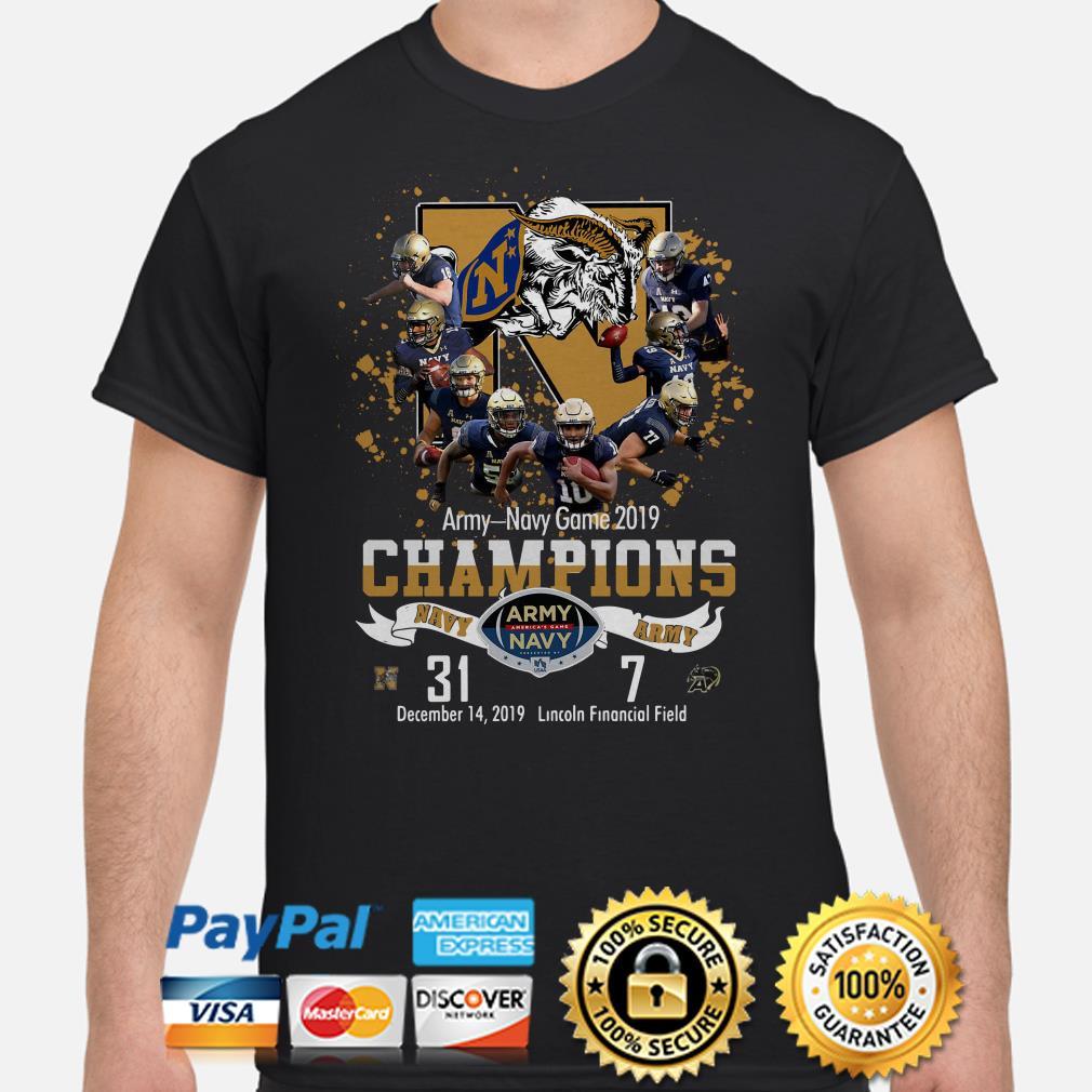 Army-Navy game 2019 Champions shirt