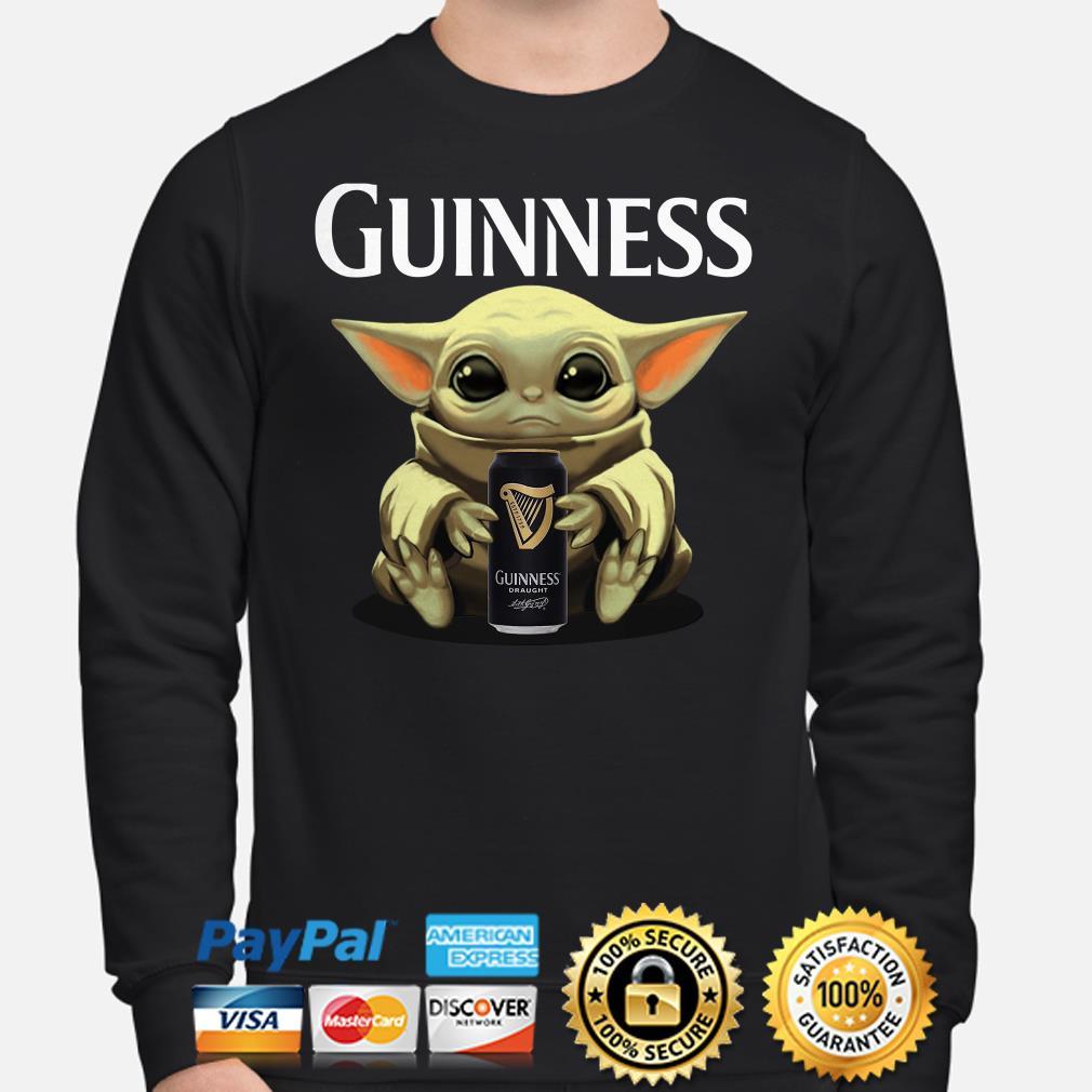 Baby Yoda hug Guinness Draught Sweater