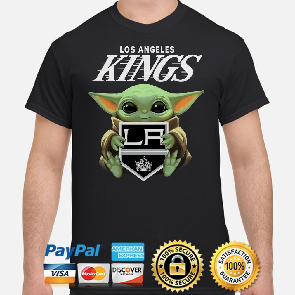Baby Yoda Hug Los Angeles Kings Shirt