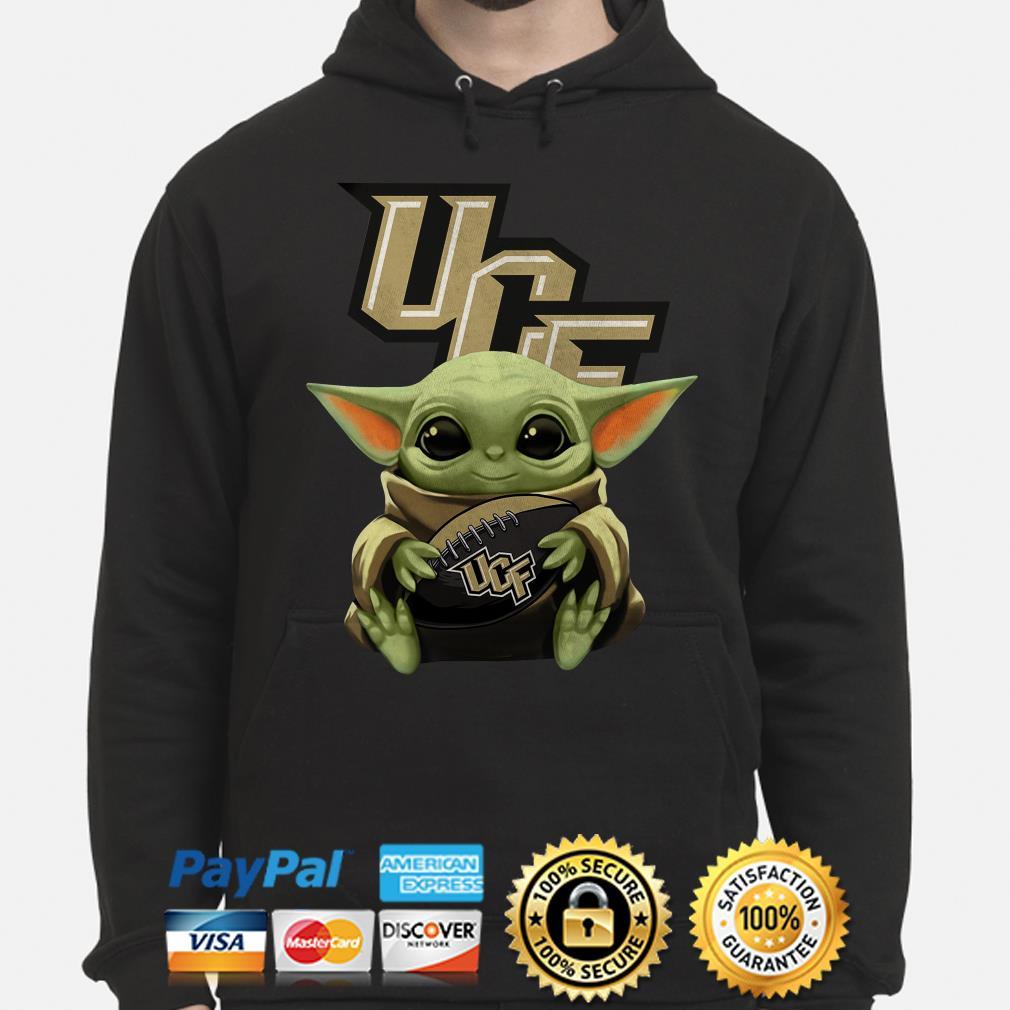Baby Yoda Hug UCF Knights Hoodie