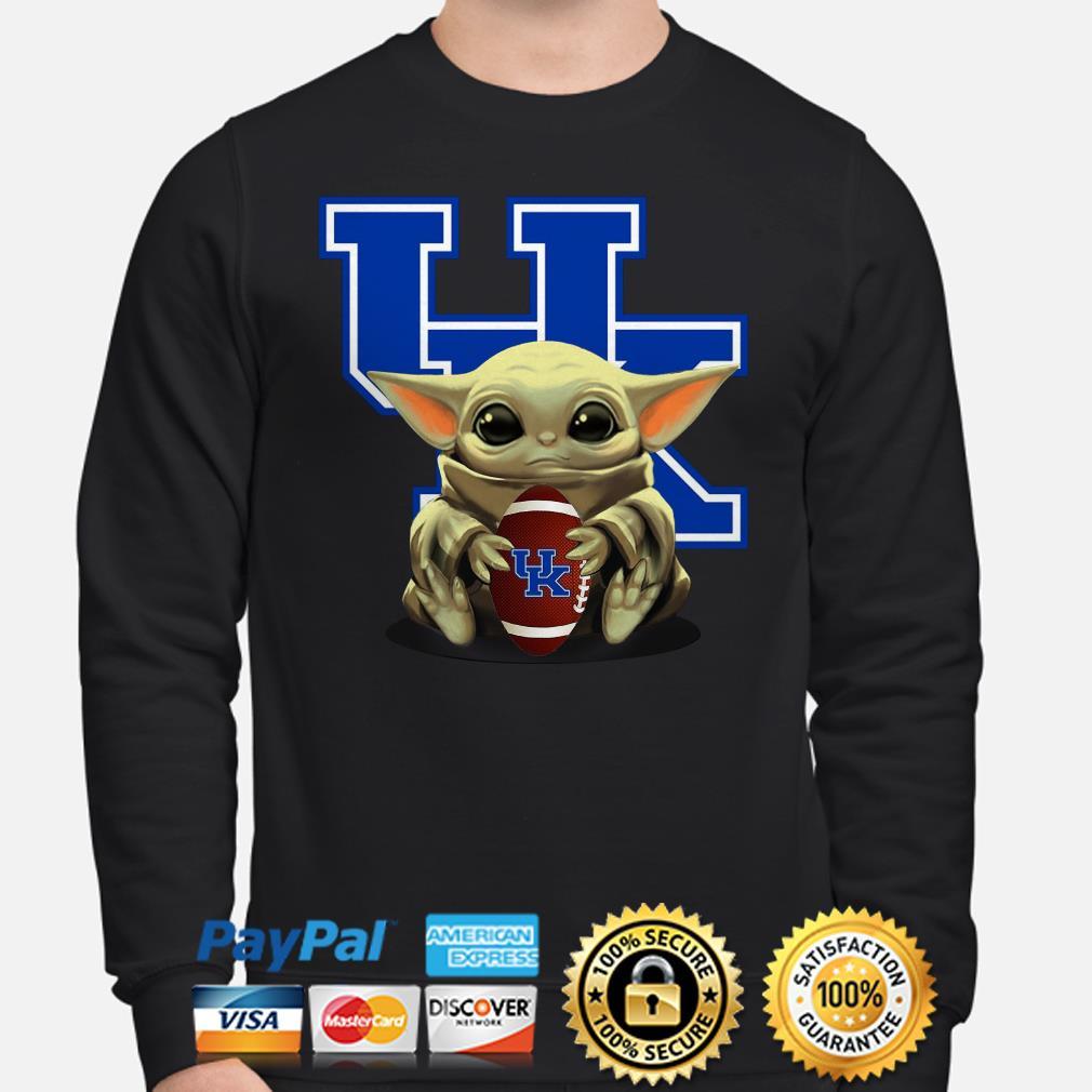 Baby Yoda hug UK University Of Kentucky Sweater