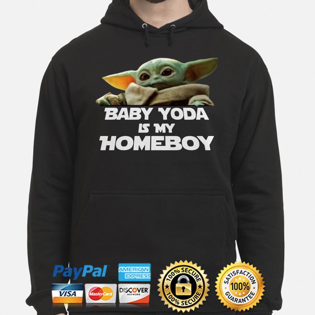 Baby Yoda is my homeboy Hoodie