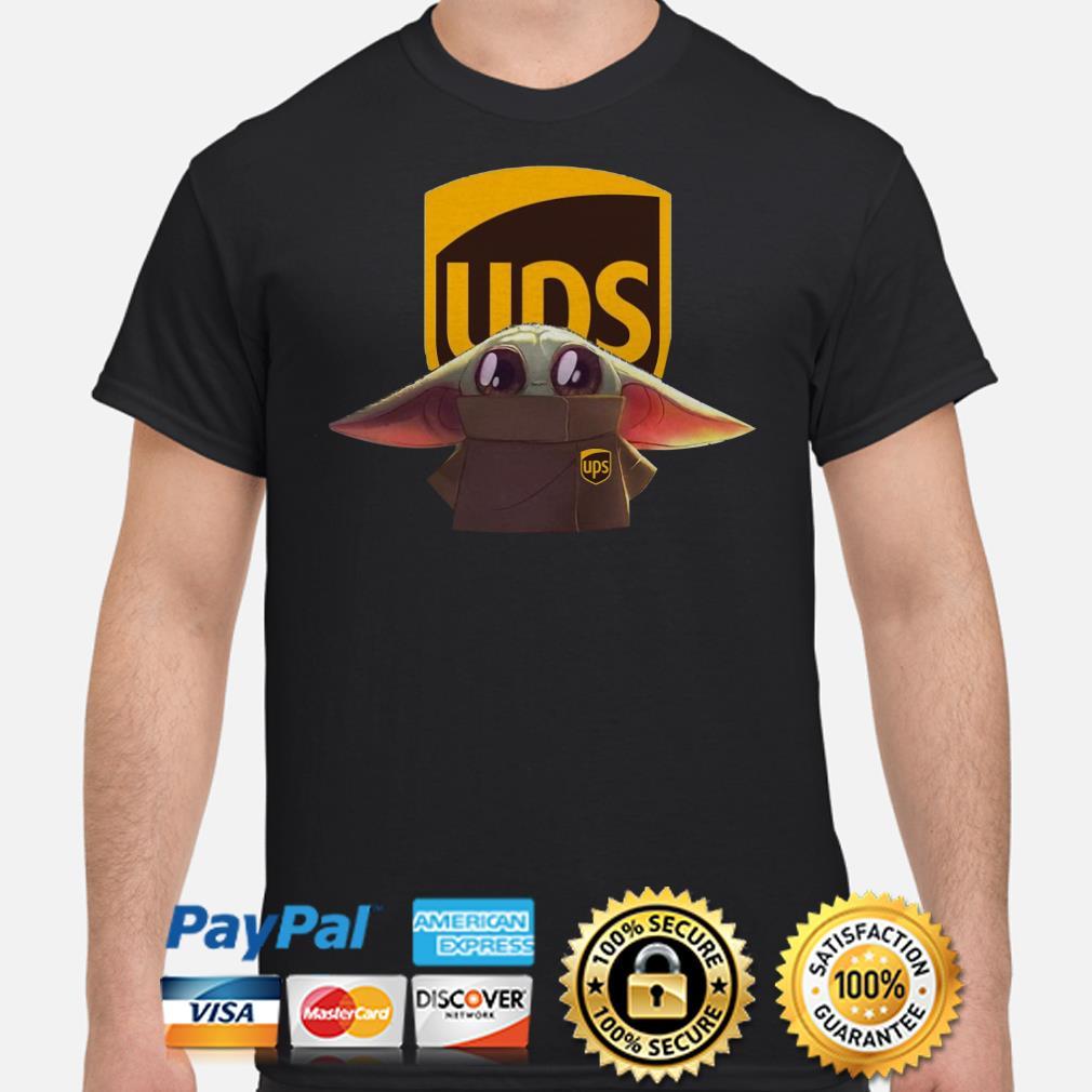 Baby Yoda UPS shirt