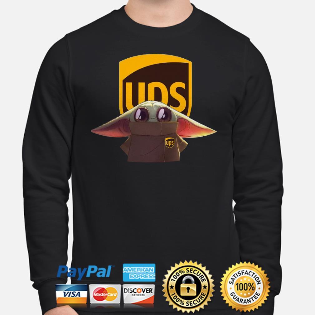 Baby Yoda UPS Sweater