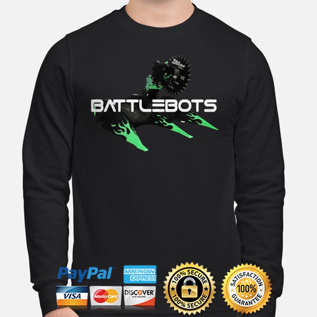 Battle Bots Apparel Toy Fighting Battlebot Robot Sweater