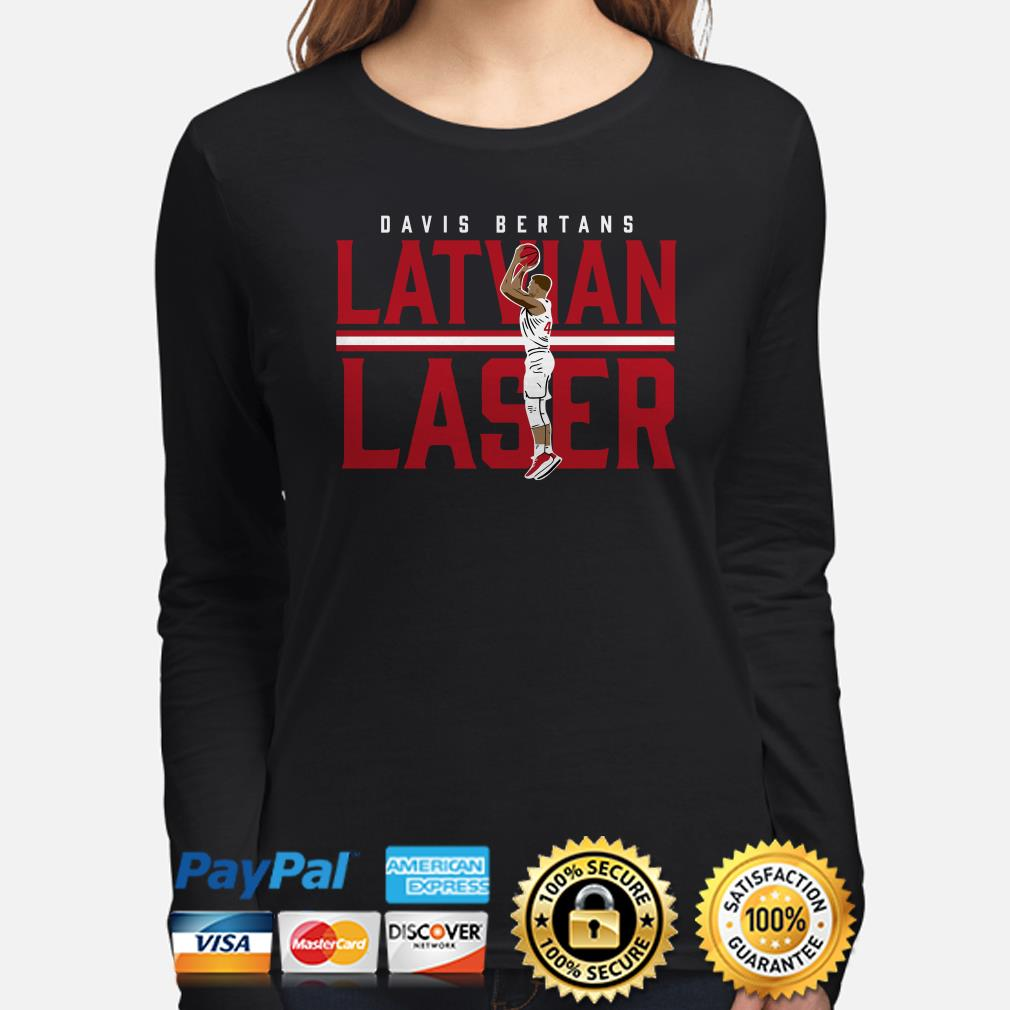Davis Bertans Latvian Laser Long sleeve