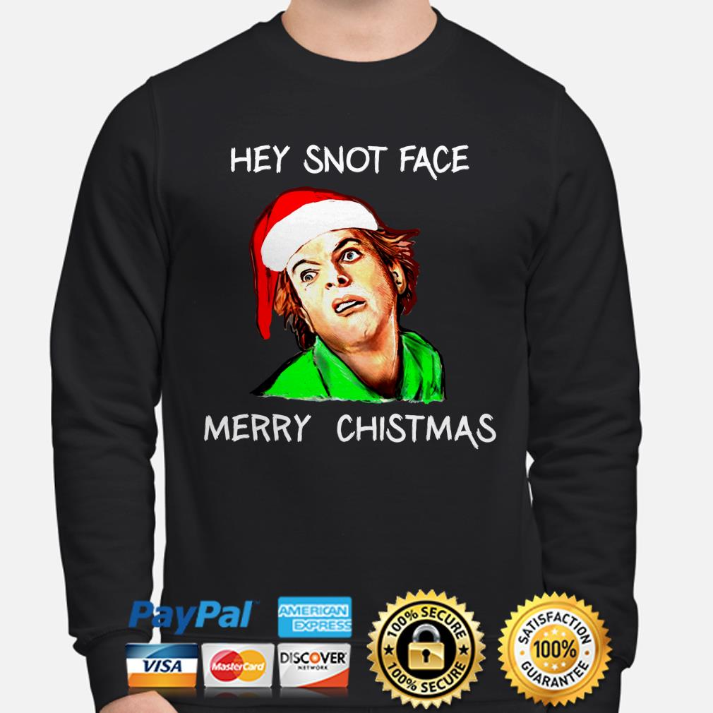 Drop Dead Fred Hey Snot Face Merry Christmas Sweatshirt