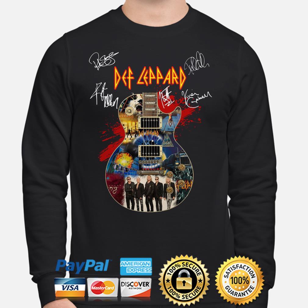 Guitar Def Leppard signature Sweater